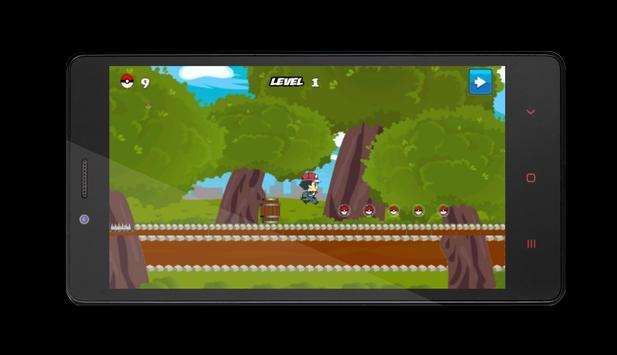 Runner Pokemon apk screenshot