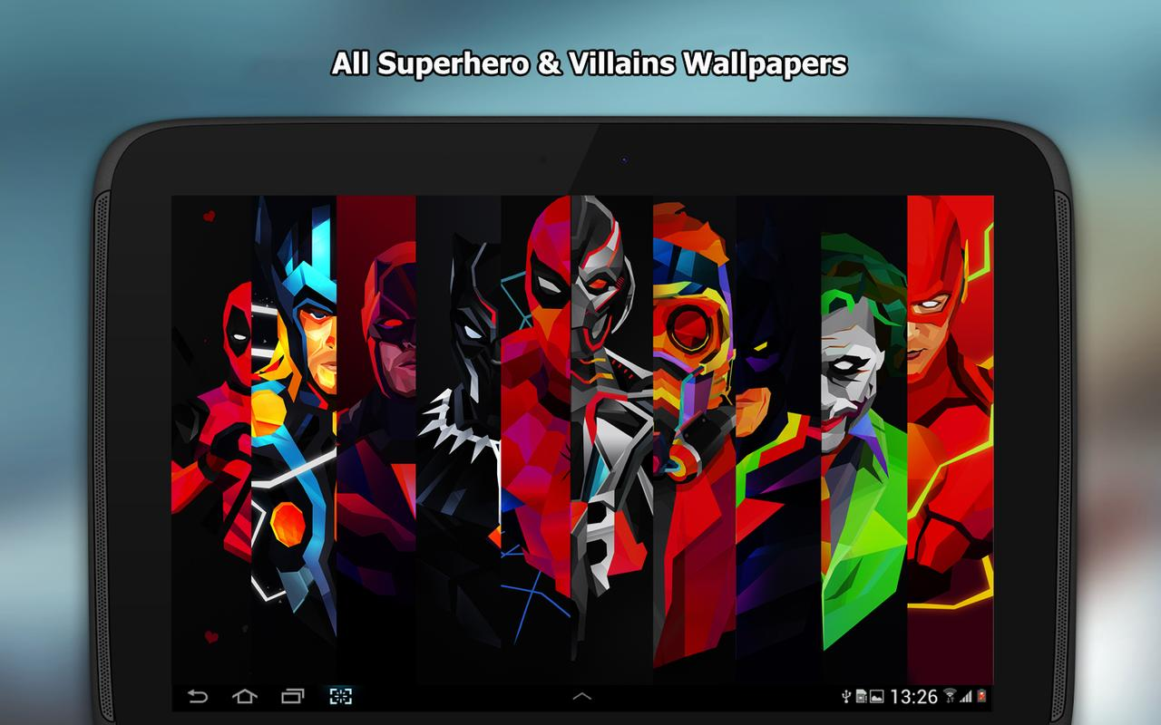 Superhero Wallpapers 4k For Android Apk Download