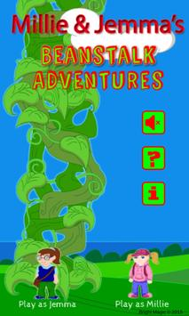 M and J's Beanstalk Adventures poster