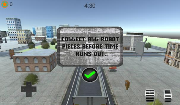 X Ray Robot Transport Truck apk screenshot
