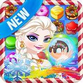Princess Make Donuts Donat Cake Match icon