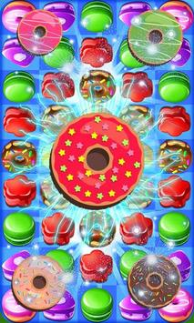 Princess Make Donuts Donat Cake Match apk screenshot
