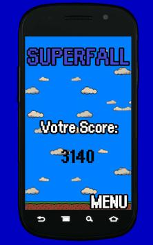 Superfall free apk screenshot