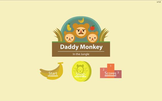 Daddy Monkey poster