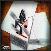 DIY 3D Drawing icon