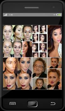 DIY Makeup Contouring Idea apk screenshot