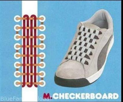 DIY New Shoelace Tutorial apk screenshot