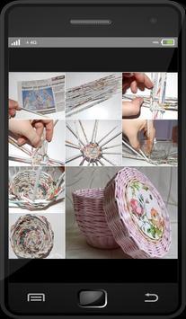 DIY Newspaper Recycle Ideas apk screenshot