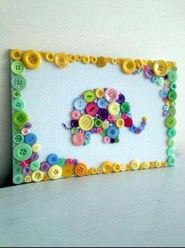 DIY Button Craft Ideas screenshot 5