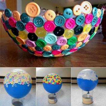 DIY Button Craft Ideas poster