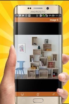 DIY Bookshelf Desing Ideas screenshot 3