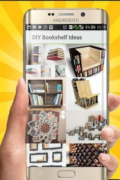 DIY Bookshelf Desing Ideas poster
