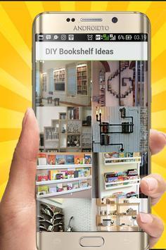 DIY Bookshelf Desing Ideas screenshot 1