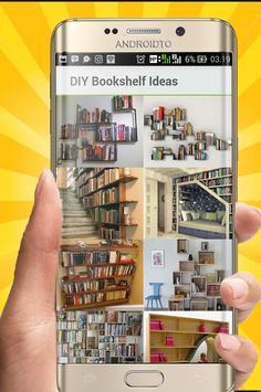 DIY Bookshelf Desing Ideas screenshot 2
