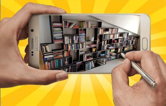 DIY Bookshelf Desing Ideas screenshot 8