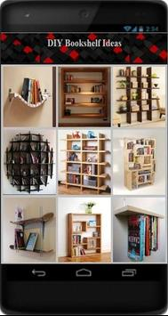 DIY Bookshelf Ideas poster