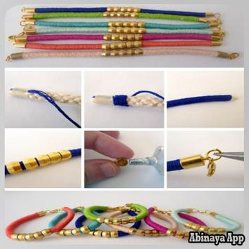 DIY Bracelet Tutorial apk screenshot