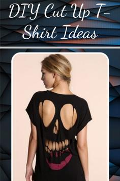 DIY Cut Up T-Shirt Ideas apk screenshot