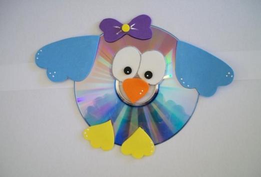Easy DIY CD Craft Ideas poster