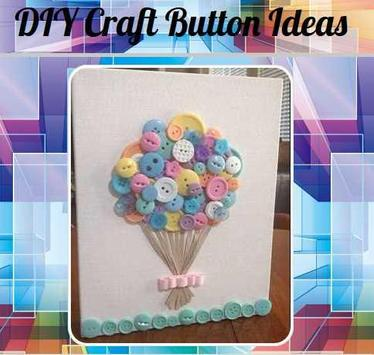 DIY Craft with Buttons poster