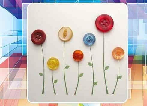 DIY Craft with Buttons apk screenshot