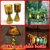 DIY Craft Glass Bottle icon