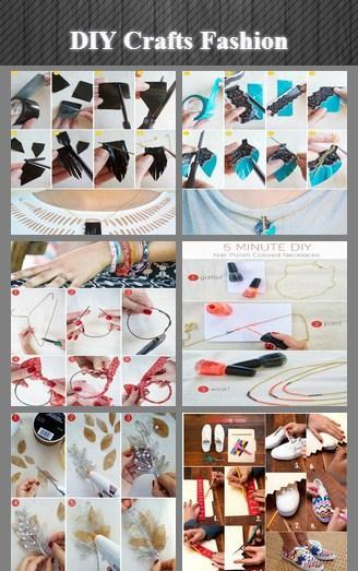 DIY Crafts Fashion poster