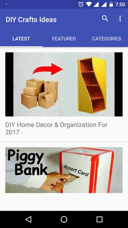 Diy Craft Creative Ideas Best Out Of Waste Craft For Android Apk
