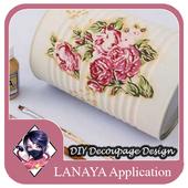 DIY Decoupage Design Ideas icon