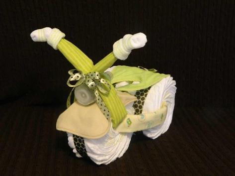 DIY Diaper Cake Design Ideas screenshot 1