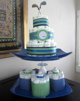 DIY Diaper Cake Design Ideas screenshot 6