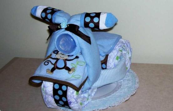 DIY Diaper Cake Design Ideas screenshot 8