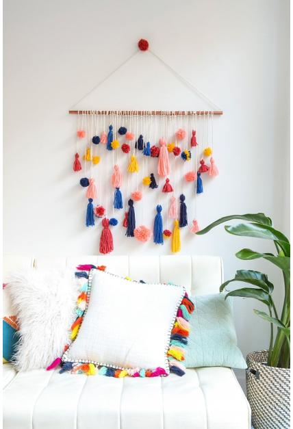 Diy Easy Hanging Wall Decoration Ideas Poster