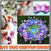 DIY Egg Carton Roses icon
