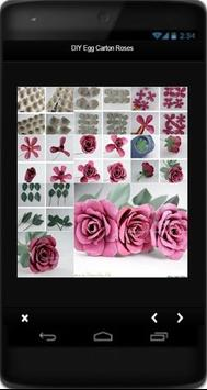 DIY Egg Carton Roses apk screenshot