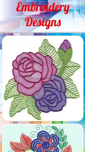 DIY Embroidery Design poster