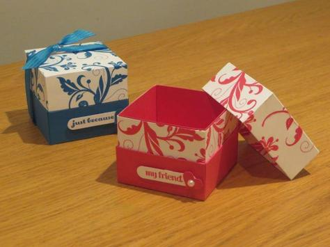 DIY Gift Box Ideas poster