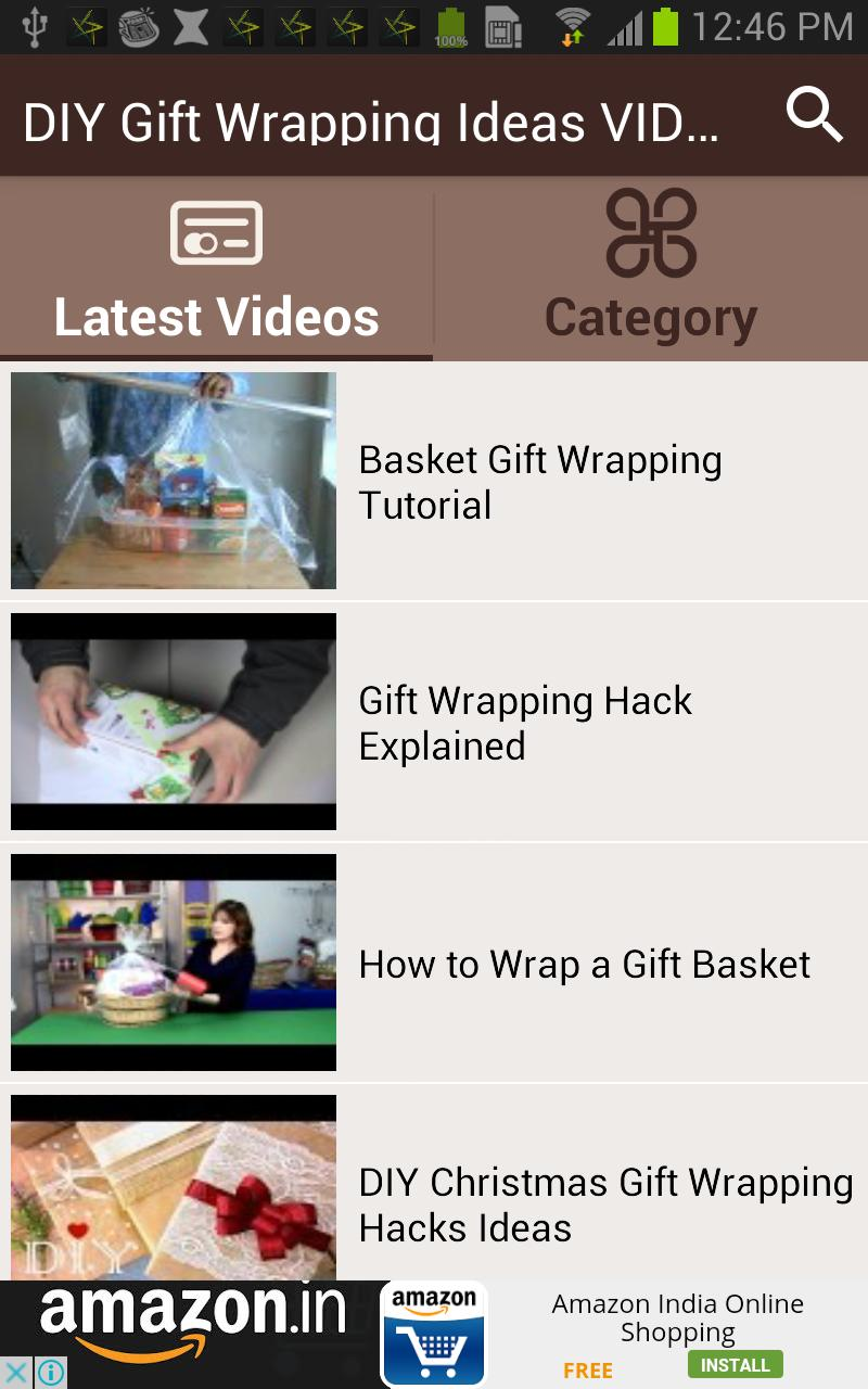Diy Gift Wrapping Ideas Videos For Android Apk Download