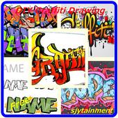 DIY Graffiti Drawing icon