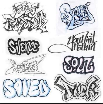 DIY Graffiti Drawing poster