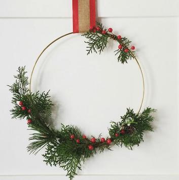 DIY Greenery Wreath screenshot 6