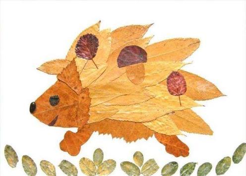 DIY Leaf Craft Ideas poster