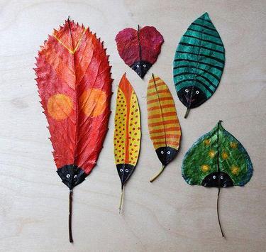 DIY Leaf Craft Ideas apk screenshot