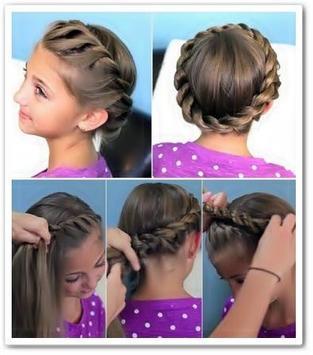 DIY Little Hairstyles Girl screenshot 12