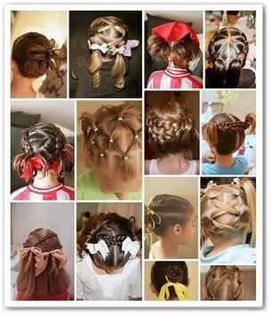 DIY Little Hairstyles Girl screenshot 1