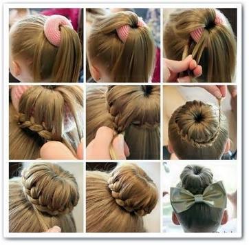 DIY Little Hairstyles Girl screenshot 2