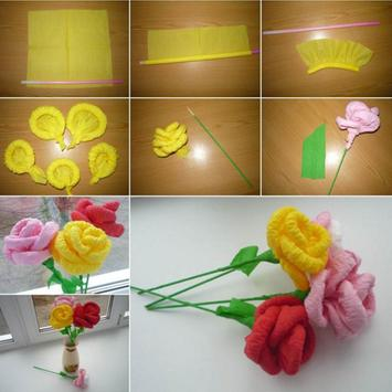 DIY PAPER FLOWER screenshot 1