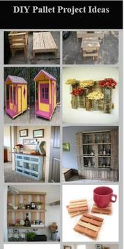 DIY Pallet Project Ideas poster