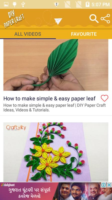 Diy Paper Craft Step By Step Videos For Android Apk Download