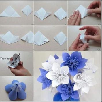 DIY Paper Flower Craft screenshot 3